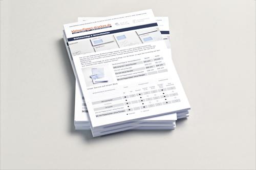 Übersichtsbild zum Bestellen von Loseblattsammlungen in DIN A4