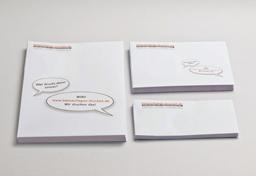 Übersichtsbild zum Bestellen von Briefumschlägen und Versandtaschen ohne Fenster