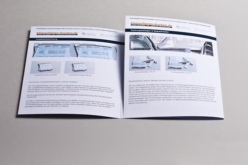Übersichtsbild zum Bestellen von 6-seitigen Foldern in DIN A4 als Wickelfalz