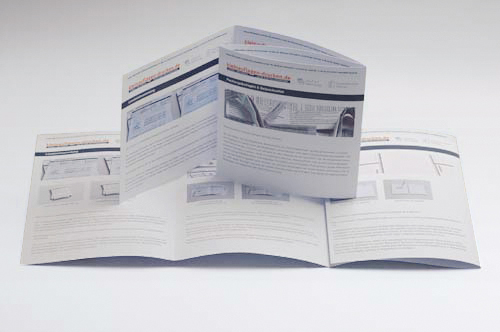 Übersichtsbild zum Bestellen von 8-seitigen Foldern in DIN A4 als Wickelfalz