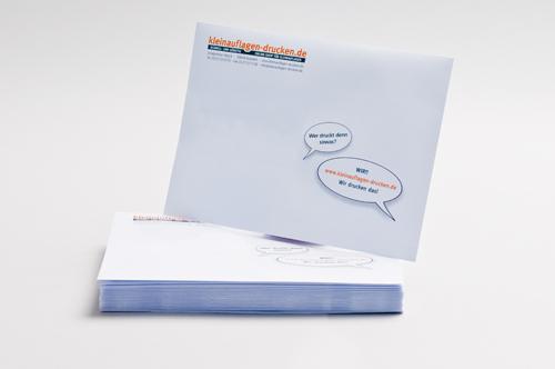 Übersichtsbild zum Bestellen von Briefhüllen in C5 ohne Fenster