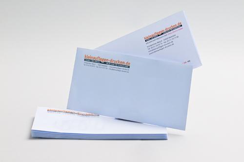 Übersichtsbild zum Bestellen von Briefhüllen in DIN lang ohne Fenster